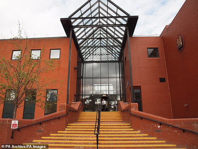 The defendant was found at the victim's Aylestone home in April in possession of his bank cards and car keys, Leicester Crown Court heard