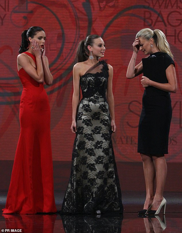 Remember this: Aside from her Murdoch fame, many will remember Sarah's infamous live TV gaffe on Australia's Next Top Model in 2010.u00A0She mistakenly announced the wrong name as the winner of the modelling competition