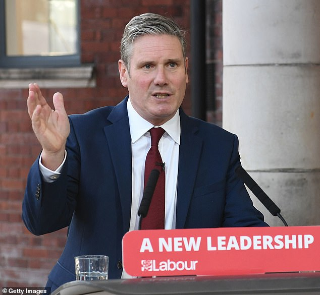 The Labour leader made clear that he was breaking from the Jeremy Corbyn era in his speech in Doncaster this morning and said the party deserved its drubbing at the 2019 general election