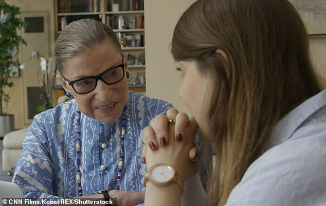 Ruth Bader Ginsburg's Harvard lawyer granddaughter Clara Spera (above) opened up on Monday for the first time about the circumstances surrounding Ginsburg's dying wish that she not be replaced until after a 'new president is installed'