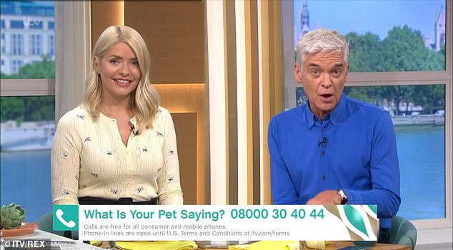 Competition: The show is set to rival ITV's This Morning, hosted by Holly Willoughby and Phillip Schofield