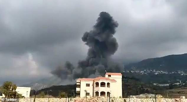 Lebanon was hit by yet another explosion today as a cloud of smoke erupted over a suspected Hezbollah arms depot