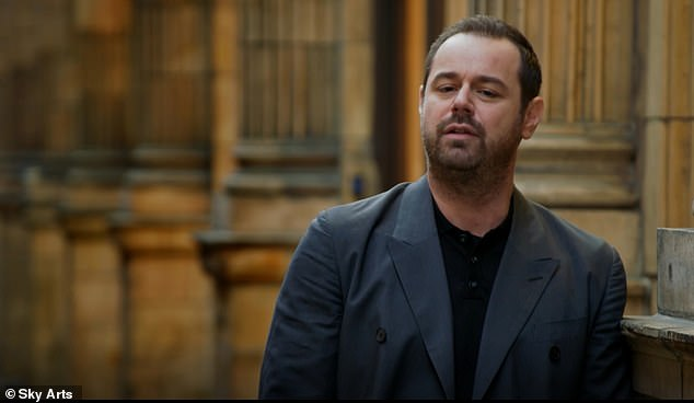 'He never wanted me to change': Danny Dyer has credited late playwright Harold Pinter for helping him stay proud of his 'working-class roots'