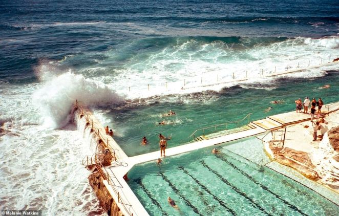 ICEBERGS, BONDI, SYDNEY, AUSTRALIA: Christopher says this is one of the world's most popular outdoor pools. He says of the swimming spot: 'Star of a million Instagram photos, Icebergs pokes tantalisingly out into the ocean, begging for a pic. When the frothy surf smashes over the pool walls, the striking visual effect is heightened.' He says because of the pool's popularity, it can seem 'a bit stressful at times'. The author adds that for a post-swim pick-me-up, the restaurant on the top floor serves a 'great brunch', and 'the people running the show up there are golden'