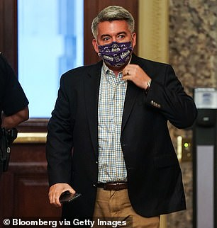 Colorado Sen Cory Gardner (pictured) also confirmed that he will back a hearing for Trump's nominee