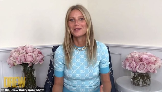 Gwyneth Paltrow opened up about her great relationship with ex Chris Martin in an interview on Drew Barrymore's talk show on Tuesday