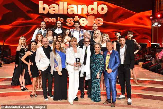 Plans: Earlier this year, Gascoigne revealed he had been offered a spot on the Italian dance show and was deciding whether to take it (2019 show still)