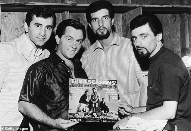 Hot act:Their first big hit was Sherry and then then came out with the doo-wop hits December 1963 (Oh, What a Night), and Big Girls Don't Cry. Seen in 1966