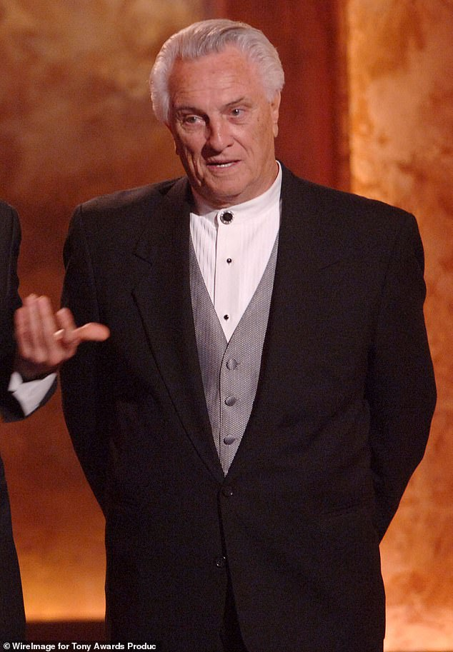Sad loss for music: Tommy DeVito has passed away at the age of 92 from complications of the coronavirus. Seen here in 2006 at the Tony Awards
