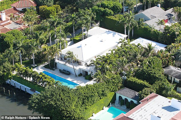 Alessi worked at Epstein's waterfront estate (pictured) in Palm Beach, Florida. In an interview with Palm Beach police in 2005, Alessi admitted he would wash off vibrators and a long rubber penis after a young girl visited Epstein for a massage