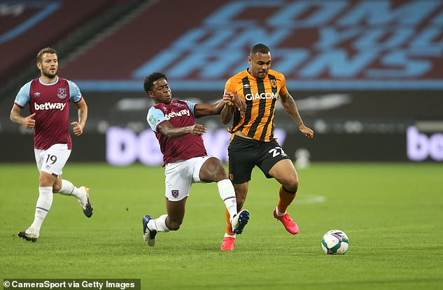 Hull striker Josh Magennis started on Tuesday night and has previously voiced his concerns