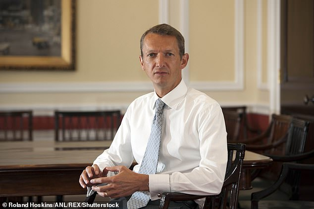 As recently as last month, the Bank of England's chief economist, Andy Haldane (pictured), wrote in this newspaper that Britain was on course for a rapid revival