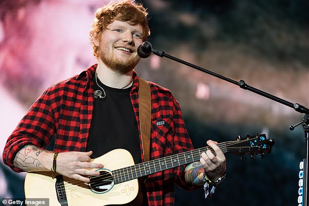 Big bucks: Ed Sheeran's property portfolio is now said to be worth £61million, after the singer reportedly purchased new homes during lockdown. Pictured in 2017