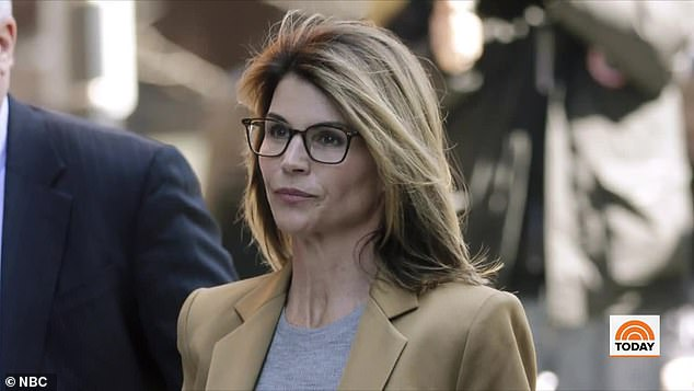 Preoccupied: As expected, Lori Loughlin did not make a cameo, as she awaits her imminent two-month prison sentence, due to her involvement in the college admissions scandal; seen in 2019