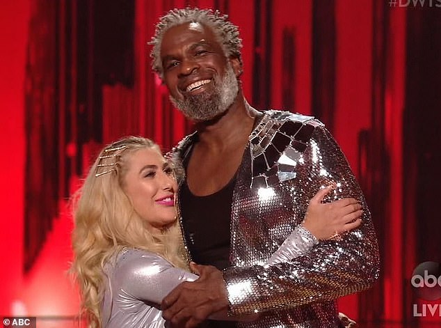 Early exit:Charles Oakley became the first contestant to be eliminated Tuesday on season 29 of Dancing With The Stars