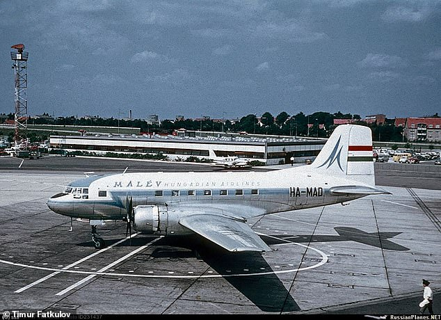 It originallybelonged to Hungarian state airline Malev before it moved to the USSR