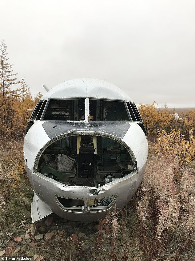 In Soviet times, the planes were flown from Chersky as a centre of polar aviation