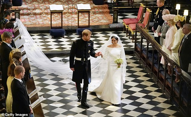 The royal wedding preacher from Chicago previously said he could feel the presence of love between the Duke and Duchess of Sussex (pictured) by just look at them