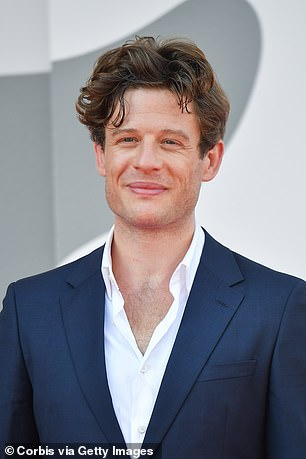 In the running:When the bookmakers market closed, James Norton was the second favourite actor to bag the part at 9/4