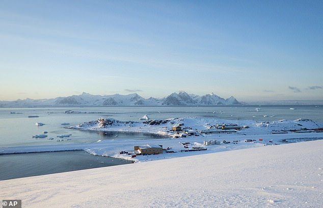 This is the Rothera research station in Antarctica.Authors say this study is 'another exclamation mark' behind the importance of the Paris climate agreement to keep global temperatures below 3.6 degrees F.