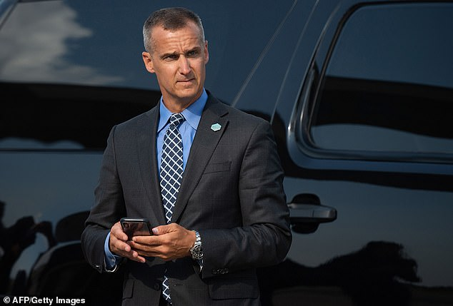 'They made Britain great again by leaving, I hope they do the same for us,' Corey Lewandowski, now a senior 2020 advisor to the Trump campaign, told DailyMail.com