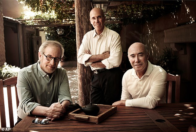 Katzenberg spent more than a decade as chairman of Walt Disney Studios before co-founding DreamWorks Animation with Steven Spielberg and David Geffen