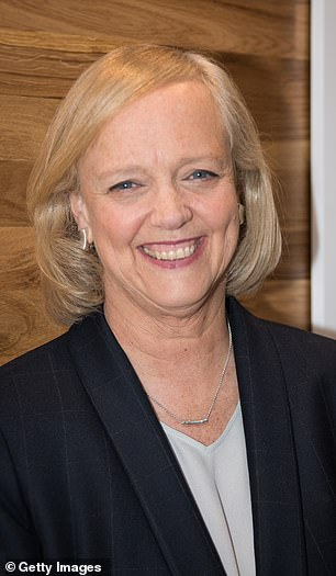 Former Hewlett Packard boss, Meg Whitman, serves as CEO