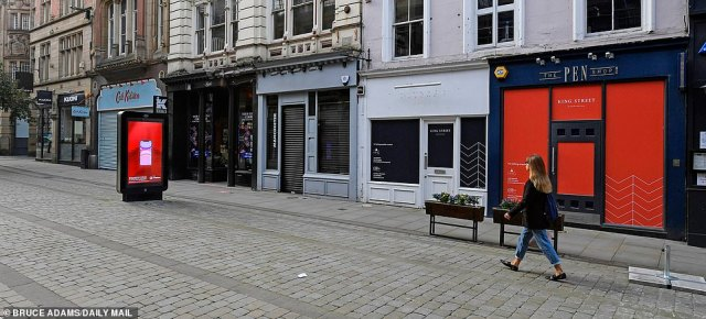 Closed shop premises on King Street in Manchester city centre. Government borrowing in the current financial year is already projected to reach at least £300billion. Debt levels have reached an alarming £2trillion, which is the equivalent of a whole year of national output pre-Covid