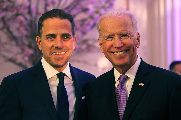 The report did not implicate Joe Biden in wrongdoing, focusing instead on his son Hunter, who it said 'cashed in' on his father's position as vice president