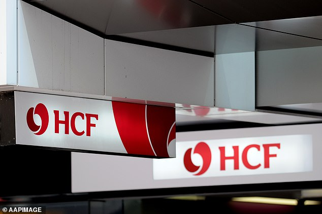 HCF private health customers will be slugged with a 3.39 per cent premium increase from October 1 (stock image)