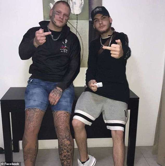 Jarod James Miller (left), 21, andJye Sebastian Webb-Italia (right), 18, have been charged with one count of murder and three counts of common assault over the alleged stabbing on Wednesday night