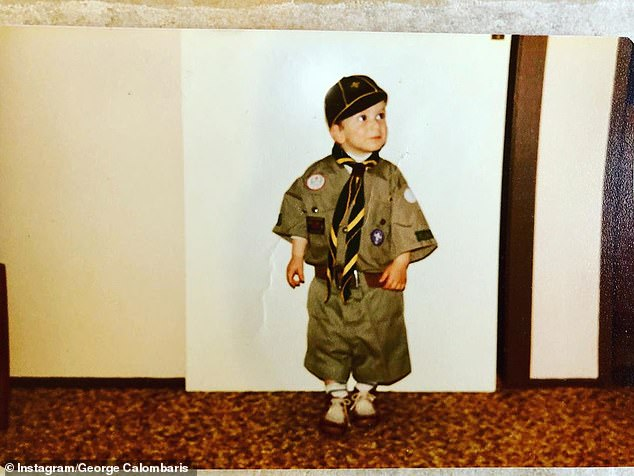 Guess who!He's one of Australia's most well known celebrity chefs but would you recognise him from this throwback photo taken when he was a little kid?