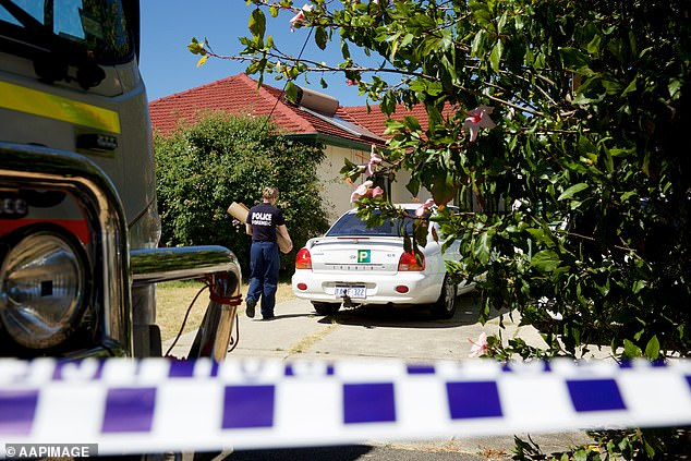 Much of the sickening evidence police found hidden away at his Kewdale home (pictured) following his 2016 arrest can now be revealed following Thursday's verdict