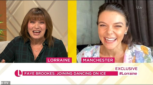 Experience: During her interview with Lorraine Kelly, Faye also admitted that she already has a 'little' experience as her father used to play ice hockey