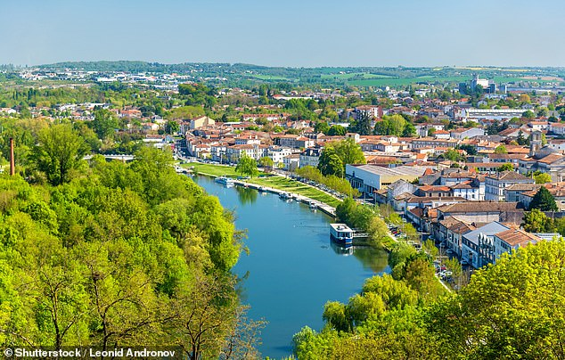 Mrs Milsom and her family had moved to the Charente region 15 years ago to live