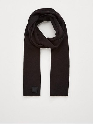 BOSS Foxon Knitted Scarf (£65) at Very