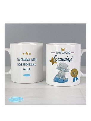 Me To You Personalised Me To You Grandad Mug (£9.99) at Very