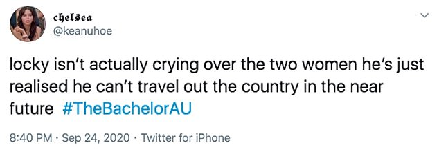 Harsh: One fan even went so far as to claim the avid adventurer was probably more upset about the coronavirus travel restrictions