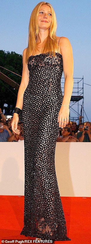 She sure can turn up the heat: The star on a carpet in 2002 in Venice, Italy