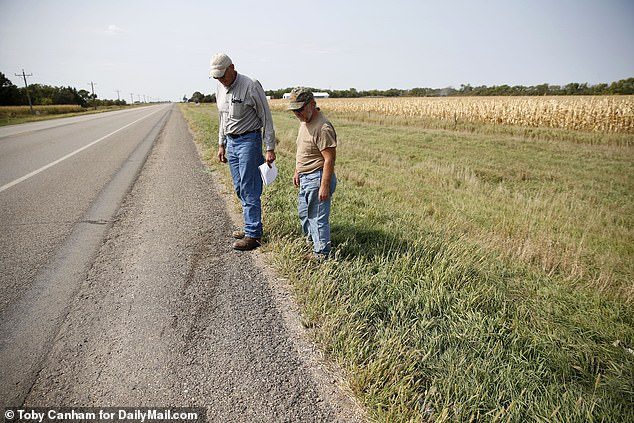 Boever told Victor he crashed his truck into the ditch because he was trying to pick up his tobacco that had fallen on the floor while he was driving and wasn't paying attention to the road