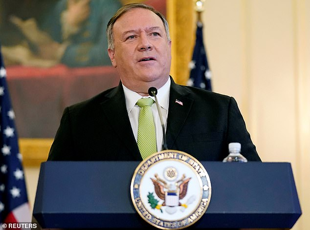 Secretary of State Mike Pompeo says China's New York consulate is a major spy hub after a New York City police officer was charged this week with spying for the Chinese government