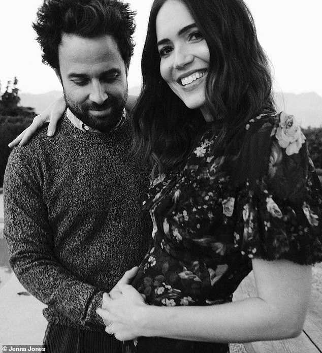Expecting parents: Mandy and her husband of two years, Taylor, have announced Thursday that they are expecting their first child together