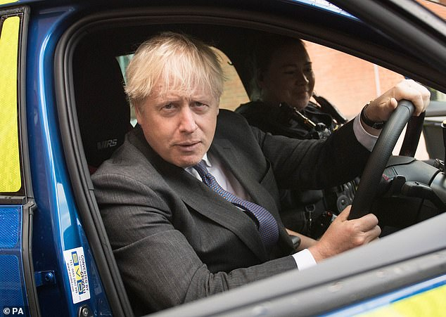 Yesterday, Mr Sunak declared there was another way to deal with the crisis. Tellingly, Mr Johnson chose not to be at the Chancellor's side in the Commons yesterday, preferring to visit Northamptonshire Police HQ instead