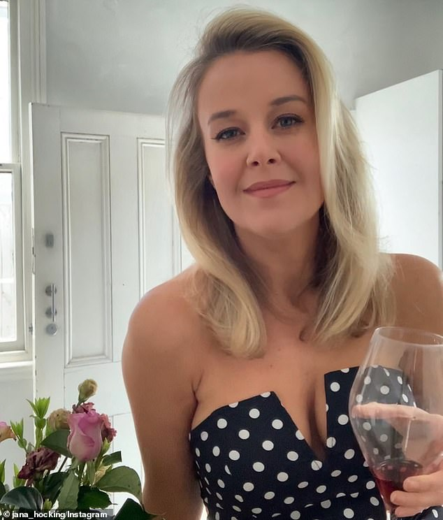 Triple M radio worker Jana Hocking (pictured) has called Tinder the 'sleaziest' online dating app after an encounter she had with a narcissistic male a few years ago