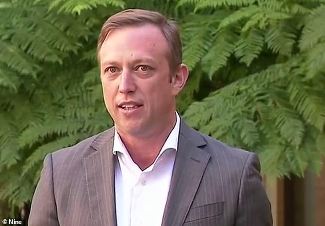 Josh Frydenberg has called the Queensland deputy premier (pictured) a 'stumbling, bumbling lightweight that no-one's ever heard of' in a savage put-down on live TV
