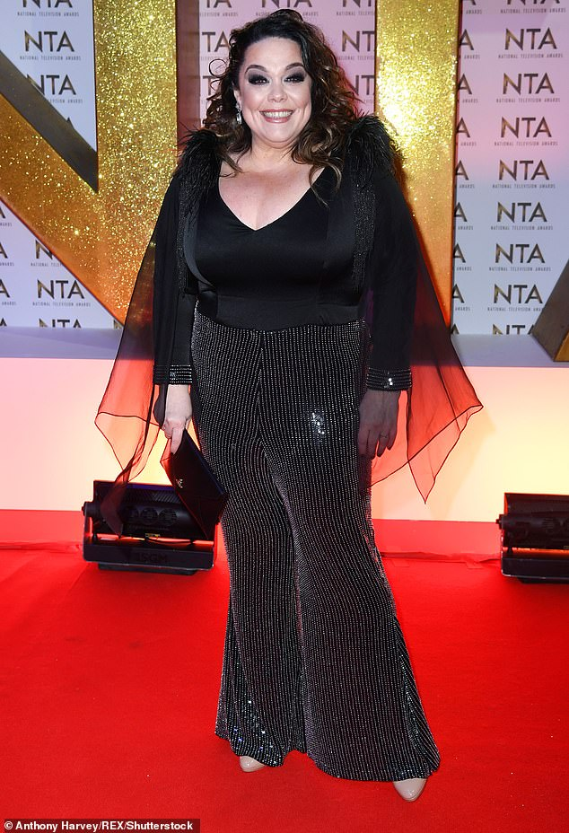 Open:The soap star previously revealed how she was told by medical experts that it is unlikely she will ever conceive, even via IVF due to the poor quality of her eggs (pictured 2020)