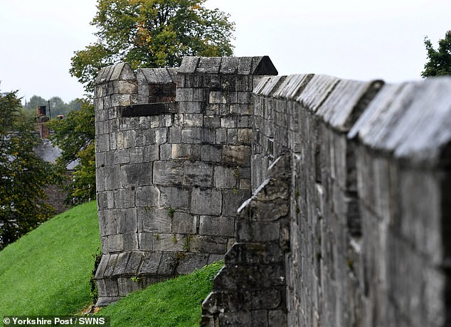Worrying fissures have appeared in the walls of Tower Two (pictured) and over the last five years have progressively worsened. A four month project will aim to repair the tower