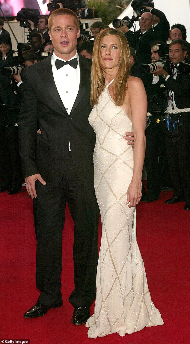 In the past: Pitt was married to Aniston, 51, from 2000 to 2005;  seen in 2004