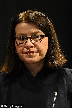 Victorian Minister for Health Jenny Mikakos (pictured) stood down on Saturday