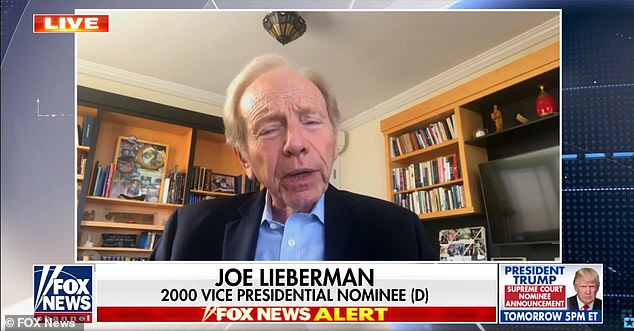 Former Sen. Joe Lieberman said in a new interview that focusing too hard on Barrett's Catholic faith during her potential confirmation hearings would be damaging for Democrats